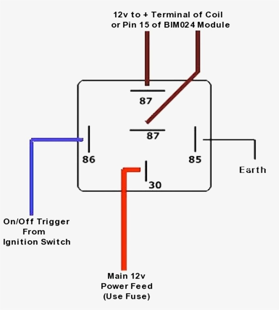 12 Volt Relay Wiring Diagram