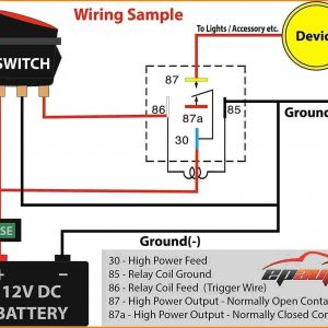 12 Volt Relay Wiring Diagram - Bosch Relay Wiring Diagram 5 Pole Fresh 5 Pin Relay Wiring Diagram Inspirational Pin Relay Wiring 4s