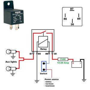 12 Volt Relay Wiring Diagram - House Wiring Diagram Multiple Lights Best 12 Volt Led Light Bulbs Incredible 19c