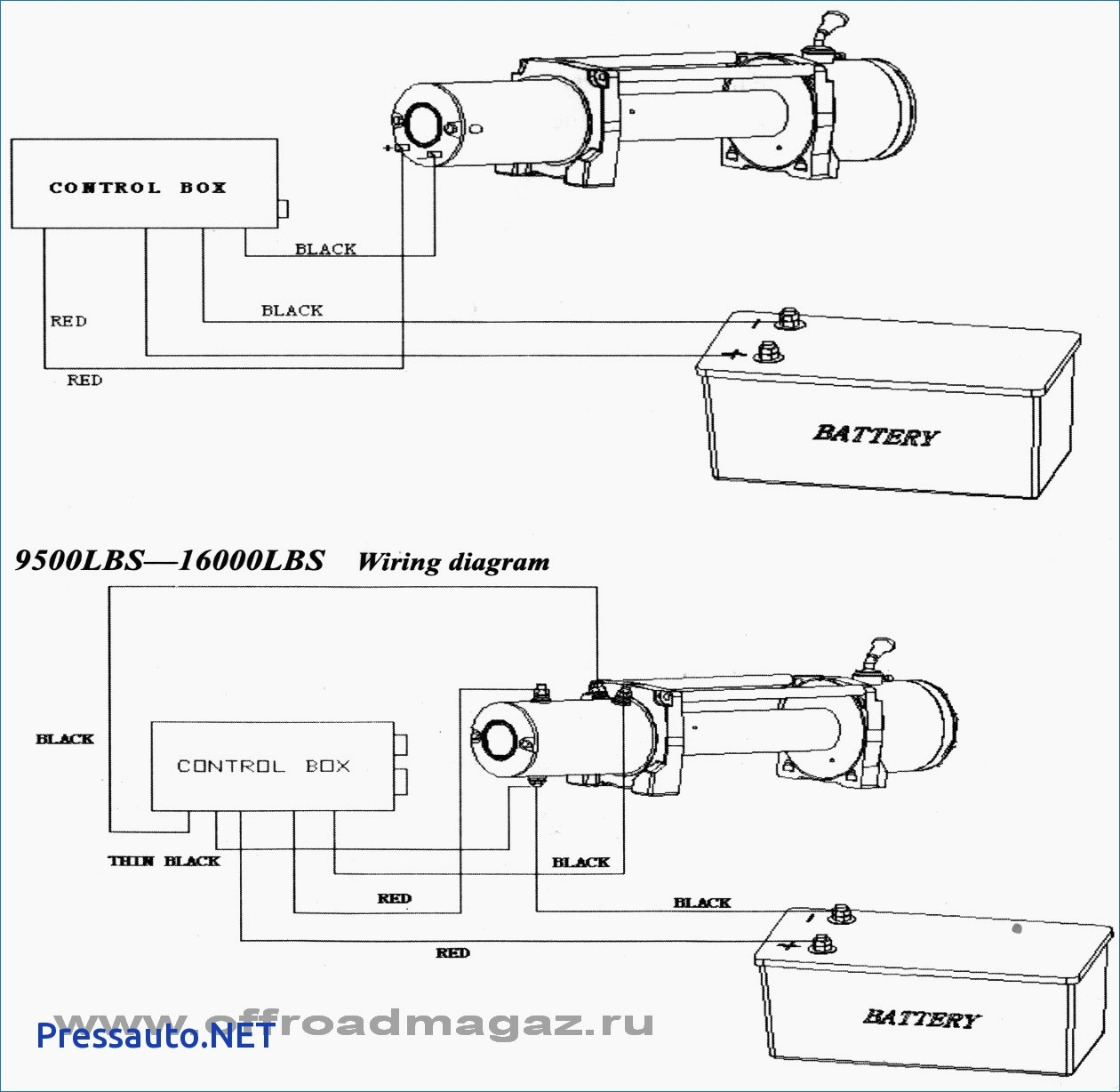 Warn Winch Wiring Diagram 120 Volt Motor - Wiring Diagrams IMG on