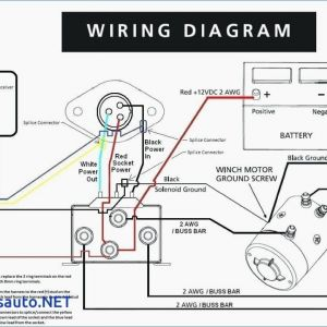 12 Volt Winch Wiring Diagram - Winch solenoid Wiring Diagram 12 Volt for Boat How Wire A Trailer Good by 17r