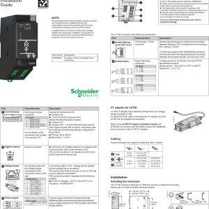 12s Meter Wiring Diagram - Easergylv150 Easergy Lv150 Low Voltage Power Meter User Manual 12s Meter Wiring Diagram Download 8e