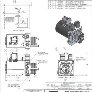 12v Hydraulic Power Pack Wiring Diagram - Nice 12 Volt Hydraulic Pump Wiring Diagram Model Electrical 12k