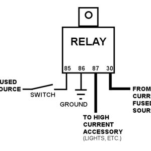 12v Relay Wiring Diagram Spotlights - Wiring Diagram for 12v Auto Relay Valid 12v Relay Wiring Diagram Spotlights New Auto 12v Relay 10j