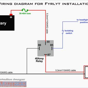 12v Relay Wiring Diagram Spotlights - Wiring Diagram for Led Driving Lights Awesome Wiring Diagram Driving Lights Relay New Wiring Diagram for Led 20p