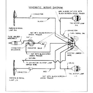 1955 Chevy Turn Signal Wiring Diagram - 1951 Truck Wiring · 1951 Directional Signals 16n