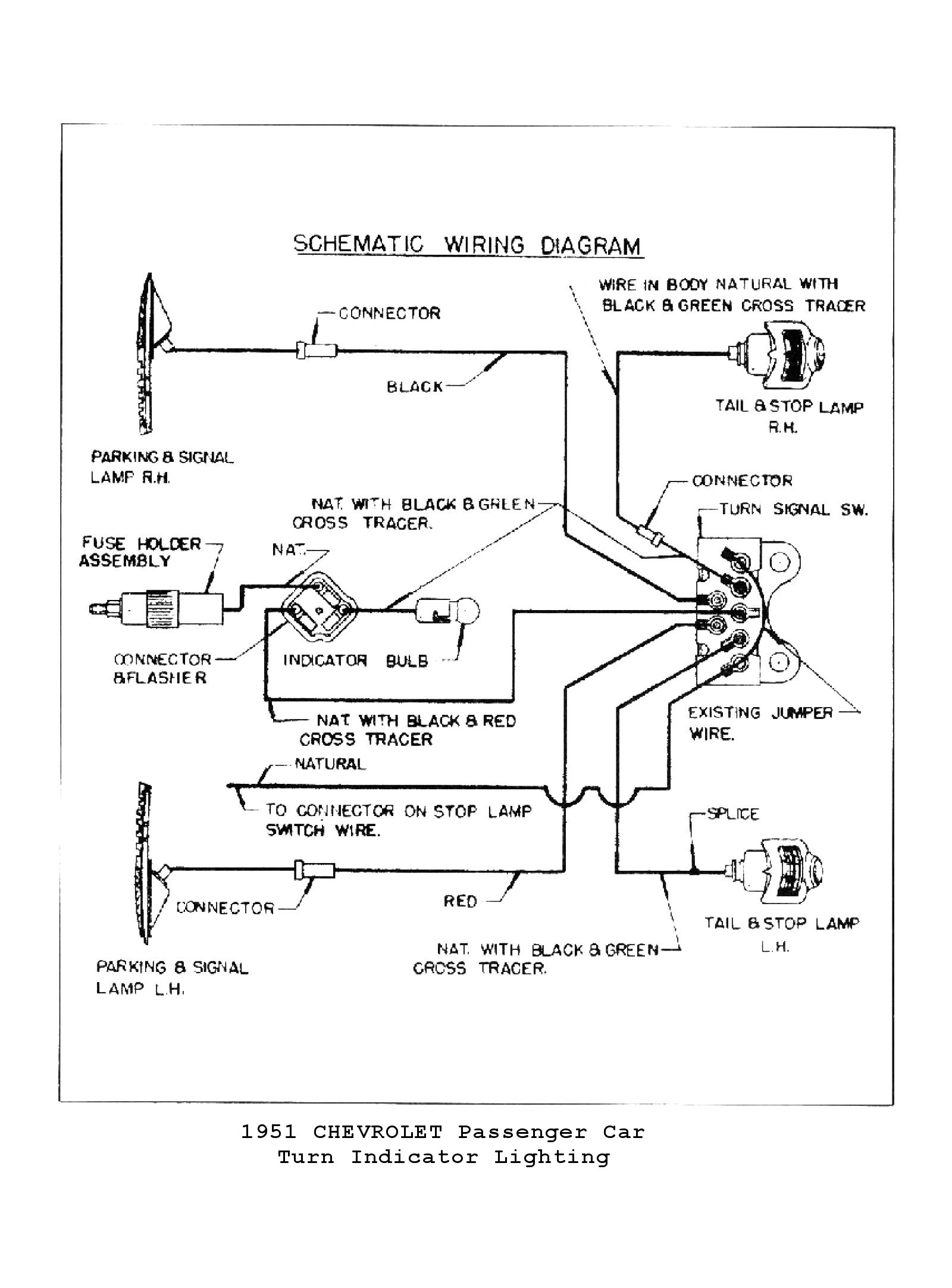 1955 Chevy Turn Signal Wiring Diagram