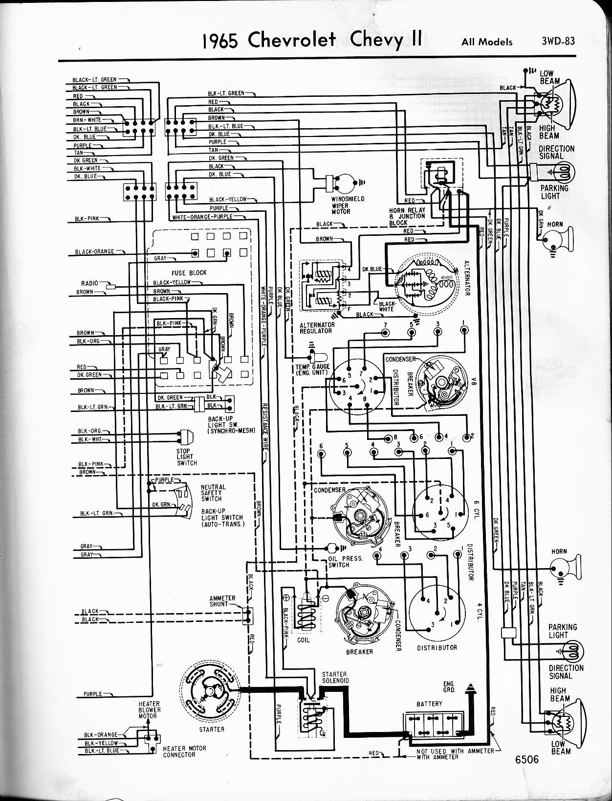 1971 Chevy Truck Wiring Diagram