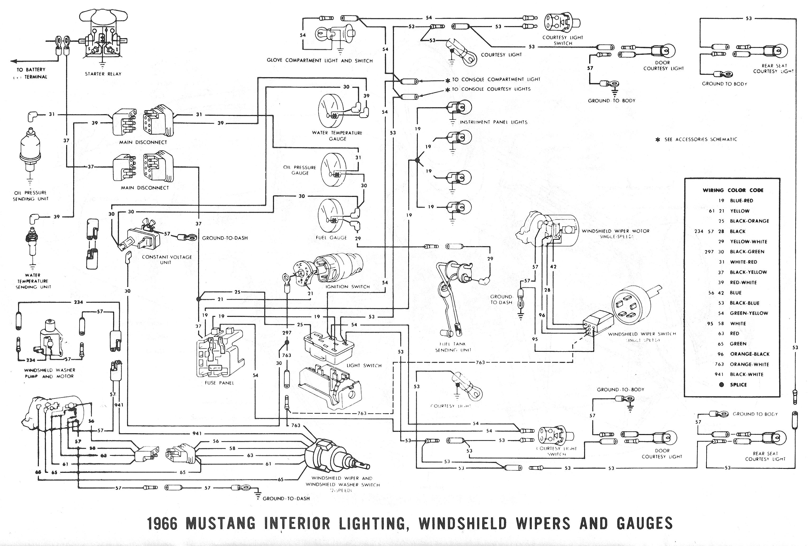 1965 ford Mustang Wiring Diagram | Free Wiring Diagram