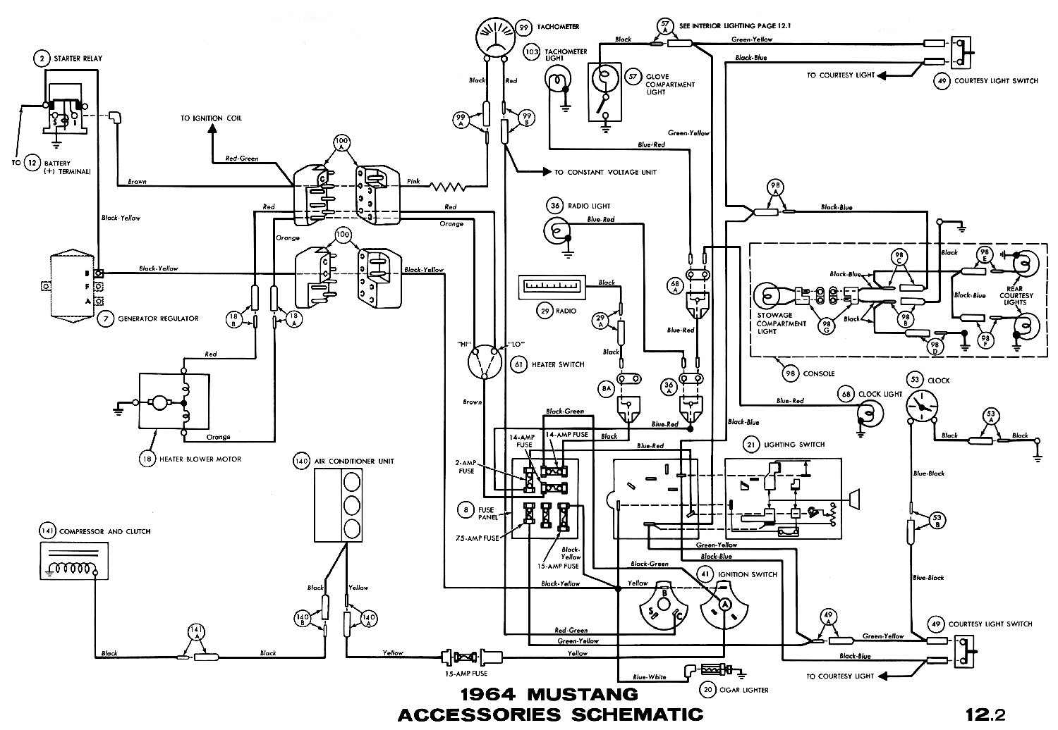 1965 mustang ignition switch wiring diagram Collection-1966 Mustang Ignition Switch Wiring Diagram Unique 1966 ford Mustang Wiring Diagram A Beautiful Blurts 12-p