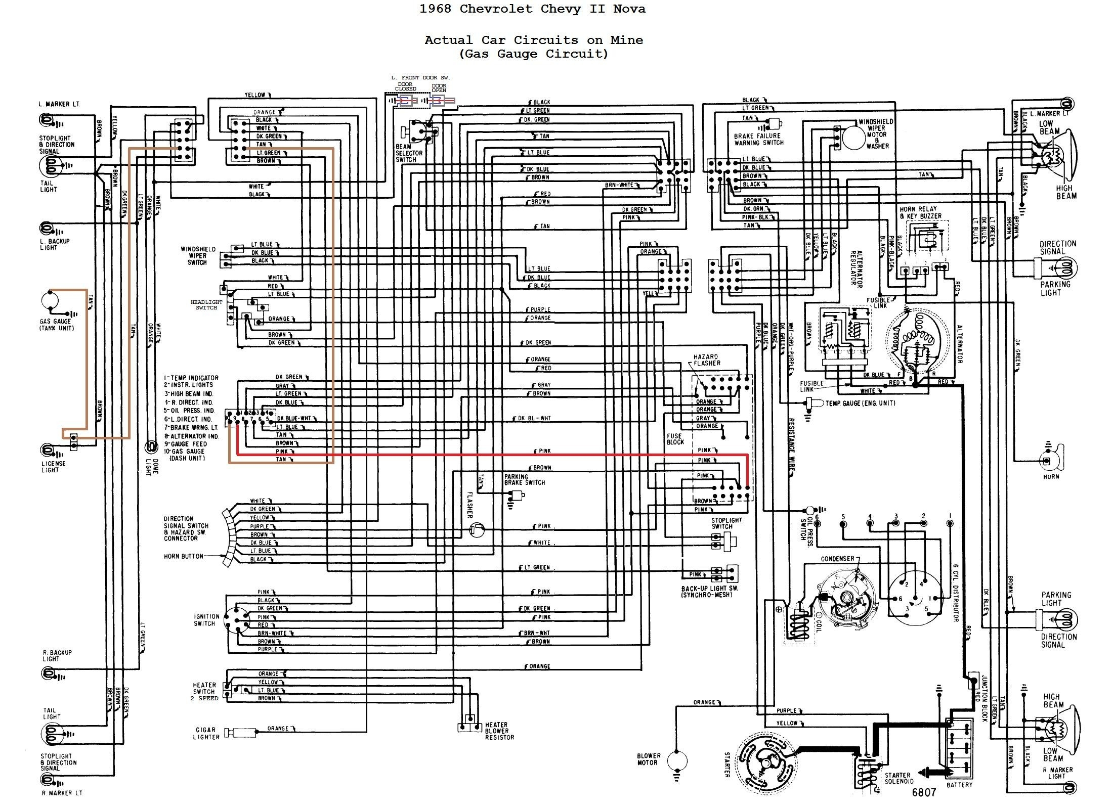 1967 Firebird Wiring Diagram Free Pontiac 1969 Chevy Nova Image Details Wire Center U2022 Rh