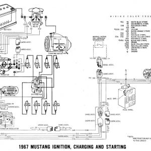 1967 Mustang Alternator Wiring Diagram - 1967 Mustang Alternator Wiring Diagram Best Wiring 1967 ford Mustang Alternator Diagrams Starting Pleasing 3l