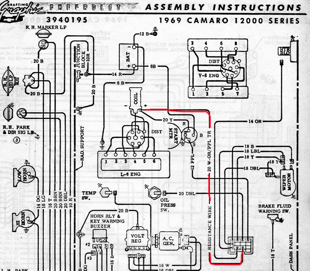 Firebird Headlight Wiring Diagram