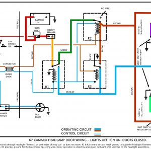 1968 Camaro Wiring Diagram - 67 Rs Headlight Doors Beautiful 1969 Camaro Wiring Diagram 16a
