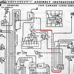 1969 Camaro Wiring Diagram - 1969 Firebird Wiring Diagram Download 69 Camaro Wiring Diagram 1 17 A 1f