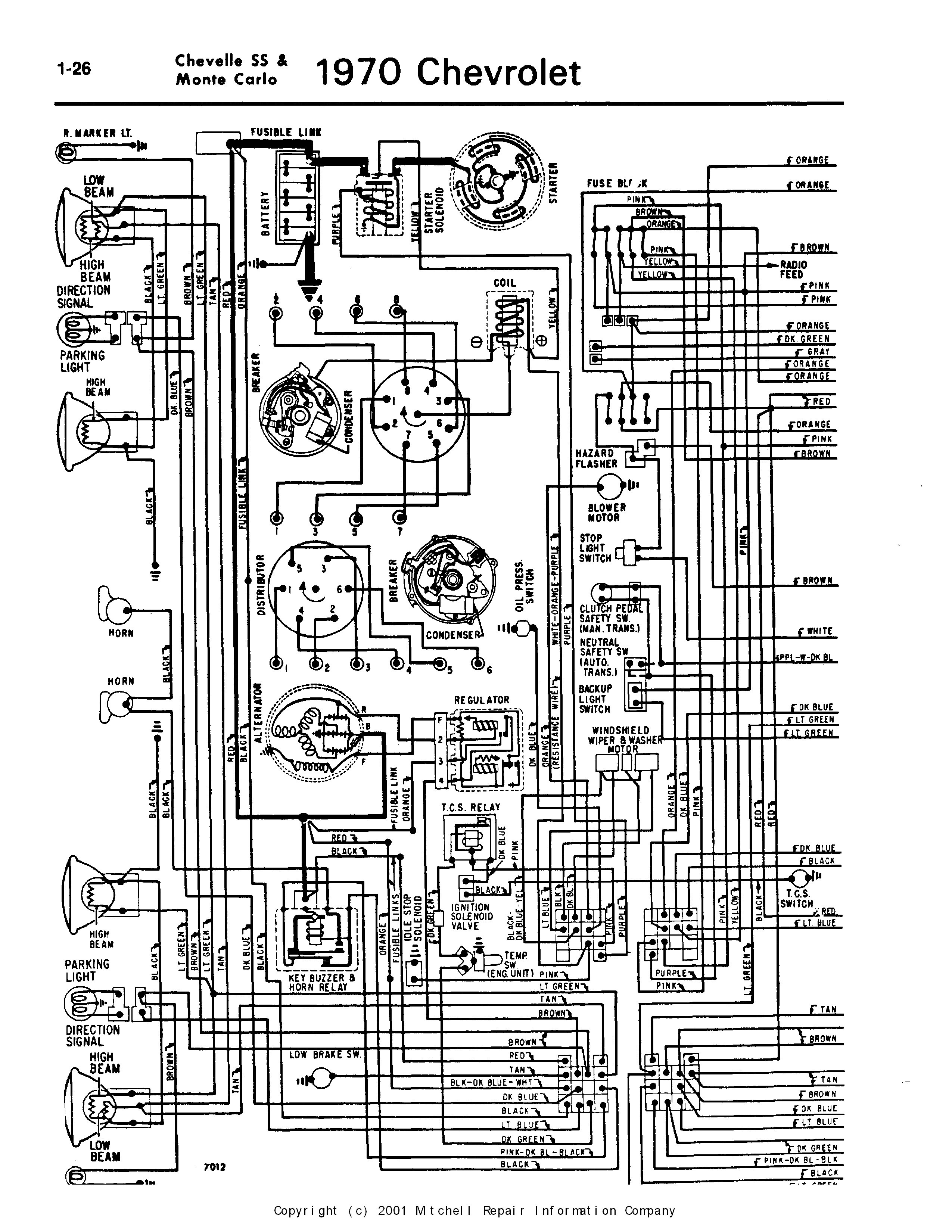 1969 chevelle wiring diagram | free wiring diagram 1965 ford ignition switch diagram #7