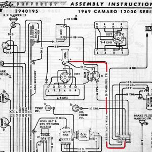 1969 Firebird Wiring Diagram - 1969 Firebird Wiring Diagram Download 69 Camaro Wiring Diagram 1 17 A 15p