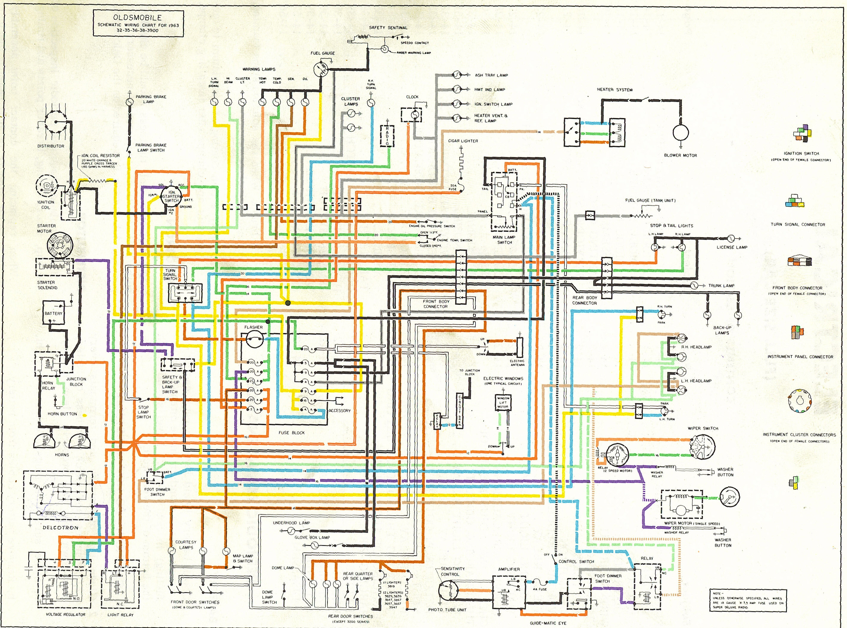 1971 camaro wiring diagram Collection-oldsmobile wiring diagrams the old car manual project rh oldcarmanualproject 1971 Oldsmobile Omega 1974 Oldsmobile 5-h