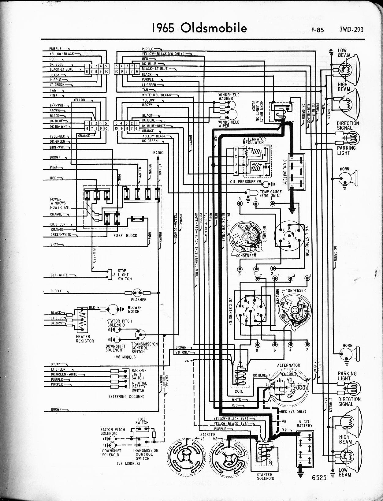 1971 camaro wiring diagram Collection-oldsmobile wiring diagrams the old car manual project rh oldcarmanualproject 1974 Oldsmobile Ninety Eight Coupe 1971 Oldsmobile Omega 5-c