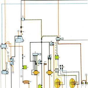 1973 Vw Super Beetle Wiring Diagram - 1973 Super Beetle Wiring Diagram thegoldenbug Rh thegoldenbug 1973 Vw Beetle Fuse Box Diagram Wiring Diagram for 1973 Super Beetle 6j