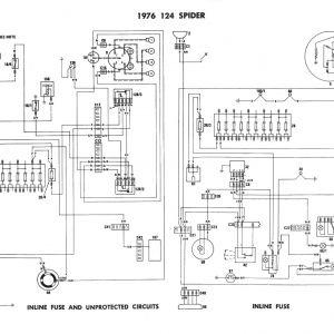 1975 Fiat 124 Spider Wiring Diagram - Fiat 124 Wiring Diagram Collection 1975 Fiat Wiring Diagram Starter Wiring Diagram 1975 280z Wiring 10k