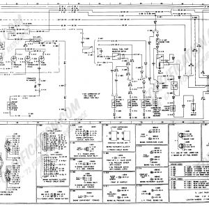 1978 ford Truck Wiring Schematic - 1973 1979 ford Truck Wiring Diagrams Schematics fordification Net Rh fordification Net 1978 F100 1977 F100 10l