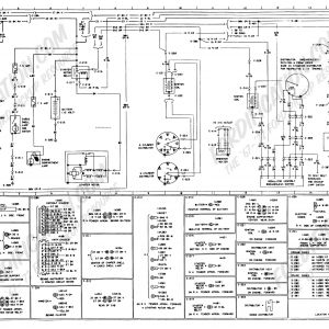1978 ford Truck Wiring Schematic - [page 02] 4r