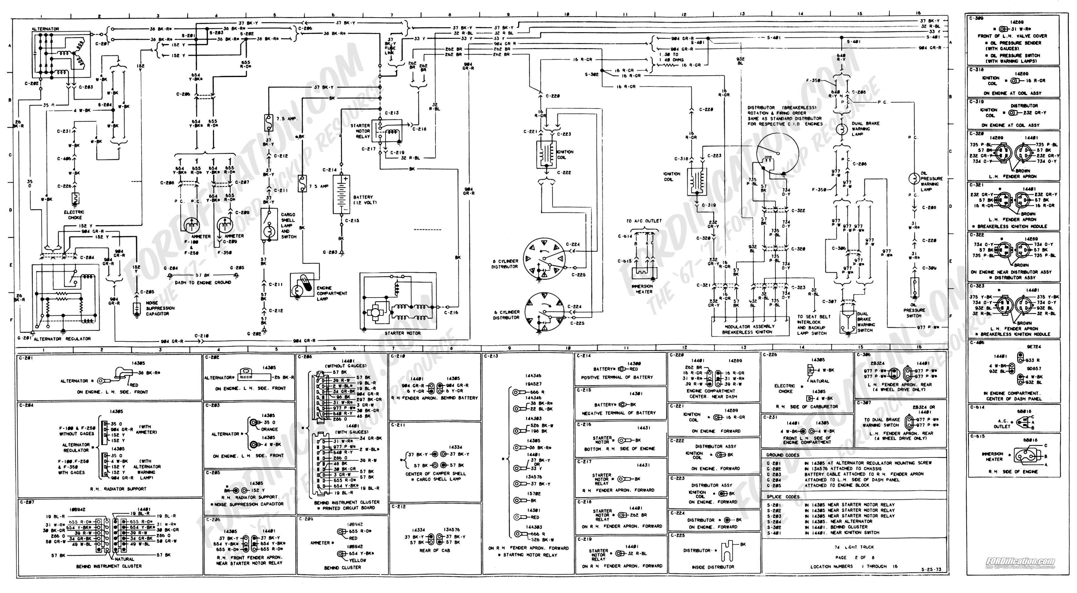 1978 ford truck wiring schematic Download-[Page 02] 4-t