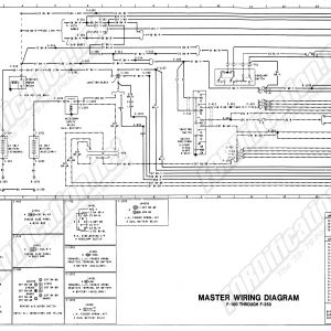 1978 ford Truck Wiring Schematic - Wiring 79master 1of9 7o