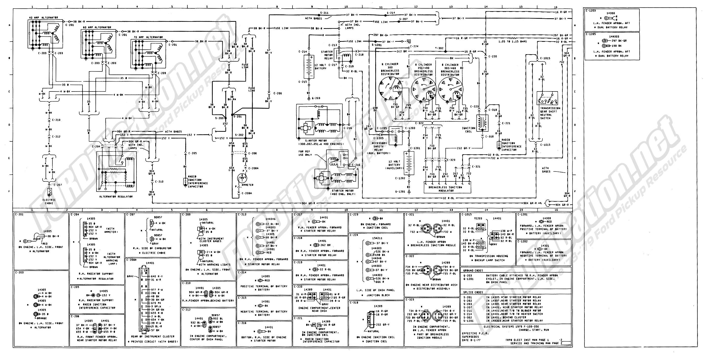 1978 ford Truck Wiring Schematic | Free Wiring Diagram