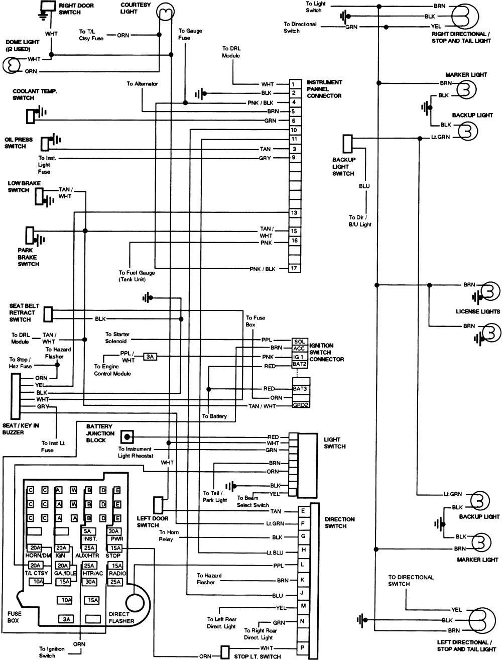 1979 Chevy Truck Wiring Schematic
