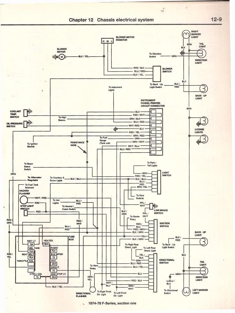 1979 Ford F150 Wiring Diagram