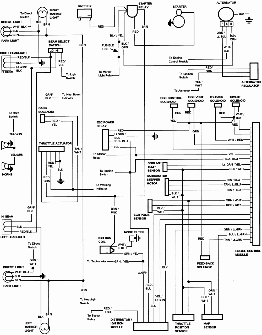 1978 Ford 900 Truck Wiring Diagram