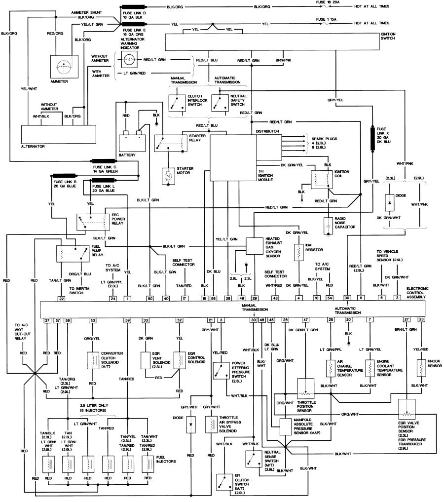 1988 ford f150 wiring diagram Collection-1988 ford F150 Wiring Diagram Jpg or 15-g