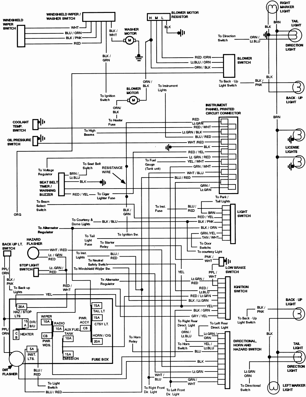 1988 Ford F 150 Radio Wiring Diagram