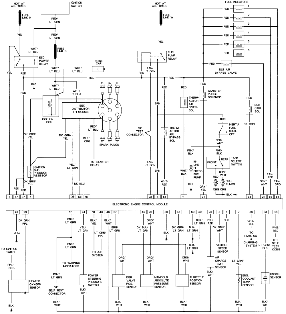1989 ford f150 ignition wiring diagram | free wiring diagram 1989 ford f350 ignition wiring diagram 1991 ford f350 ignition wiring diagram #4