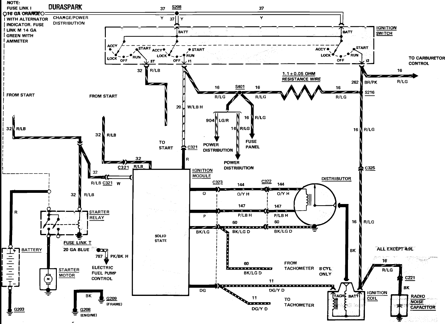 1989 ford f150 ignition wiring diagram | free wiring diagram 1988 ford ranger coil wiring diagram #10