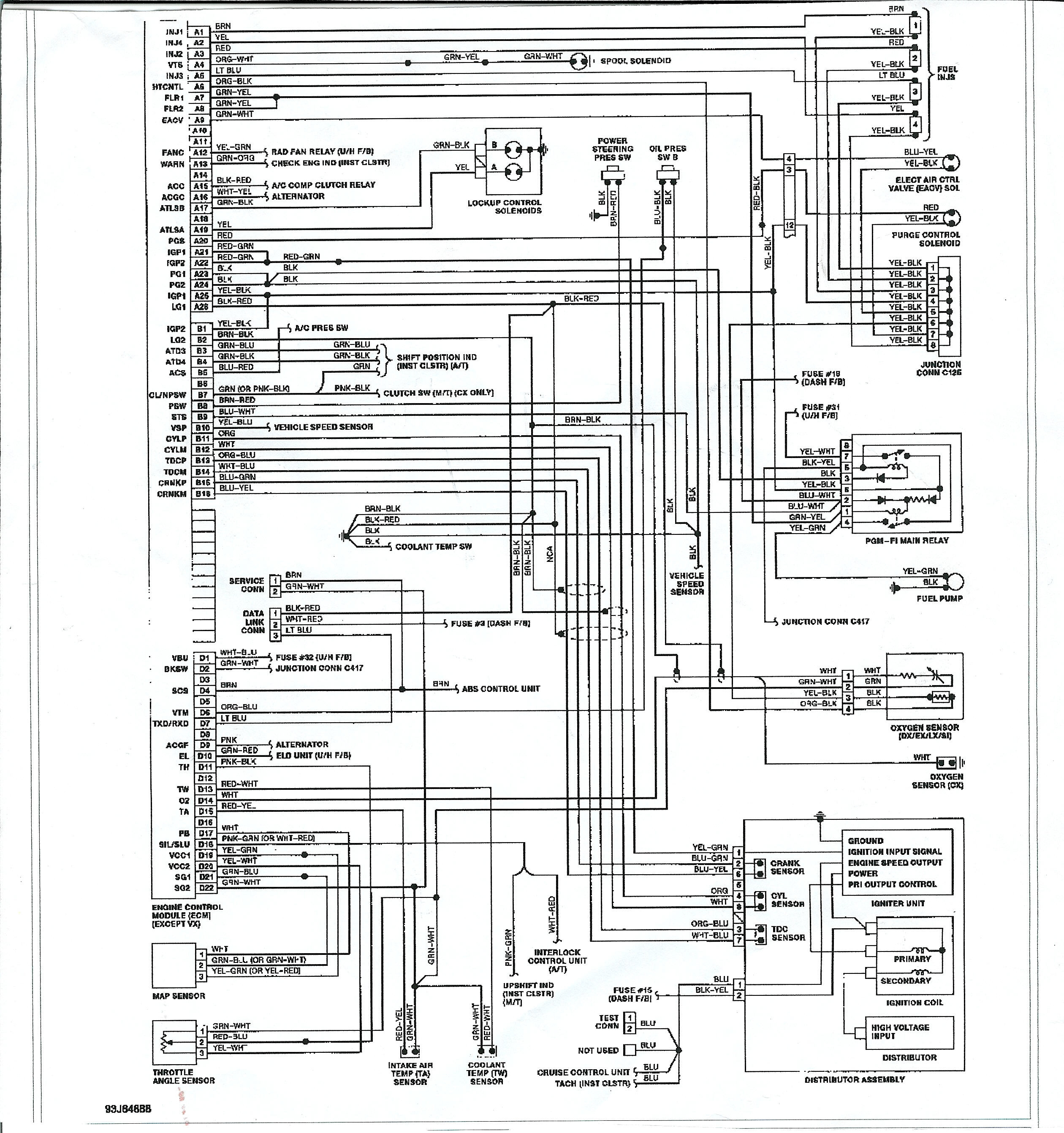 1991 honda civic electrical wiring diagram and schematics Download-fancy 99 civic wiring diagrams frieze electrical circuit diagram rh suaiphone org 19-g