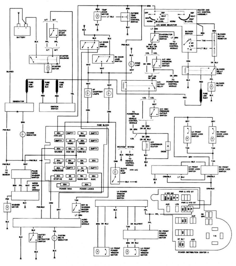 Wiring Diagram 1993 Chevy Truck