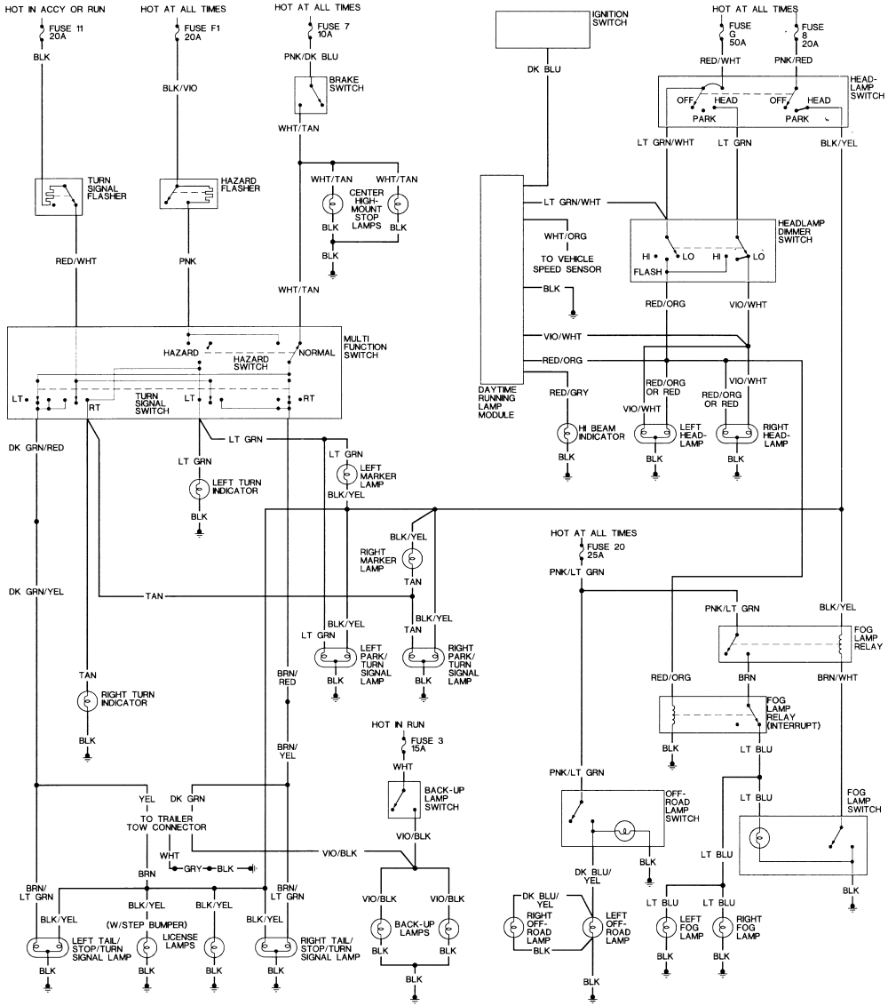 1993 Dodge W250 Wiring Diagram