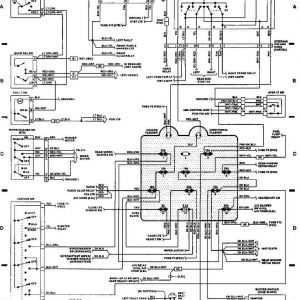 1993 Jeep Wrangler Wiring Schematic - 89 Jeep Yj Wiring Diagram 9h
