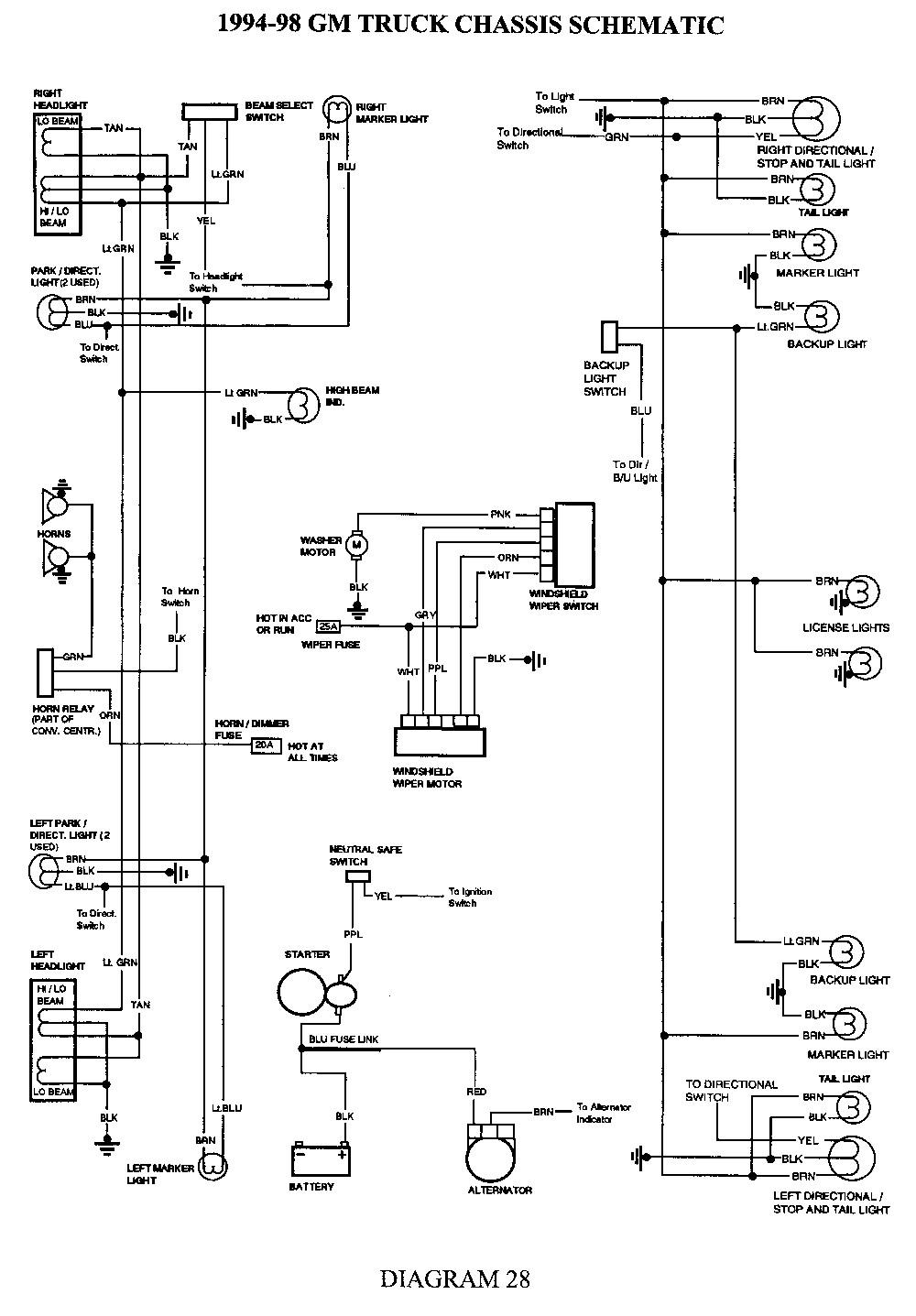 1994 Chevy Truck Brake Light Wiring Diagram - 1994 Chevy Truck Brake Light Wiring Diagram Download Brake Light Wiring Diagram Chevy Collection Fig 12t