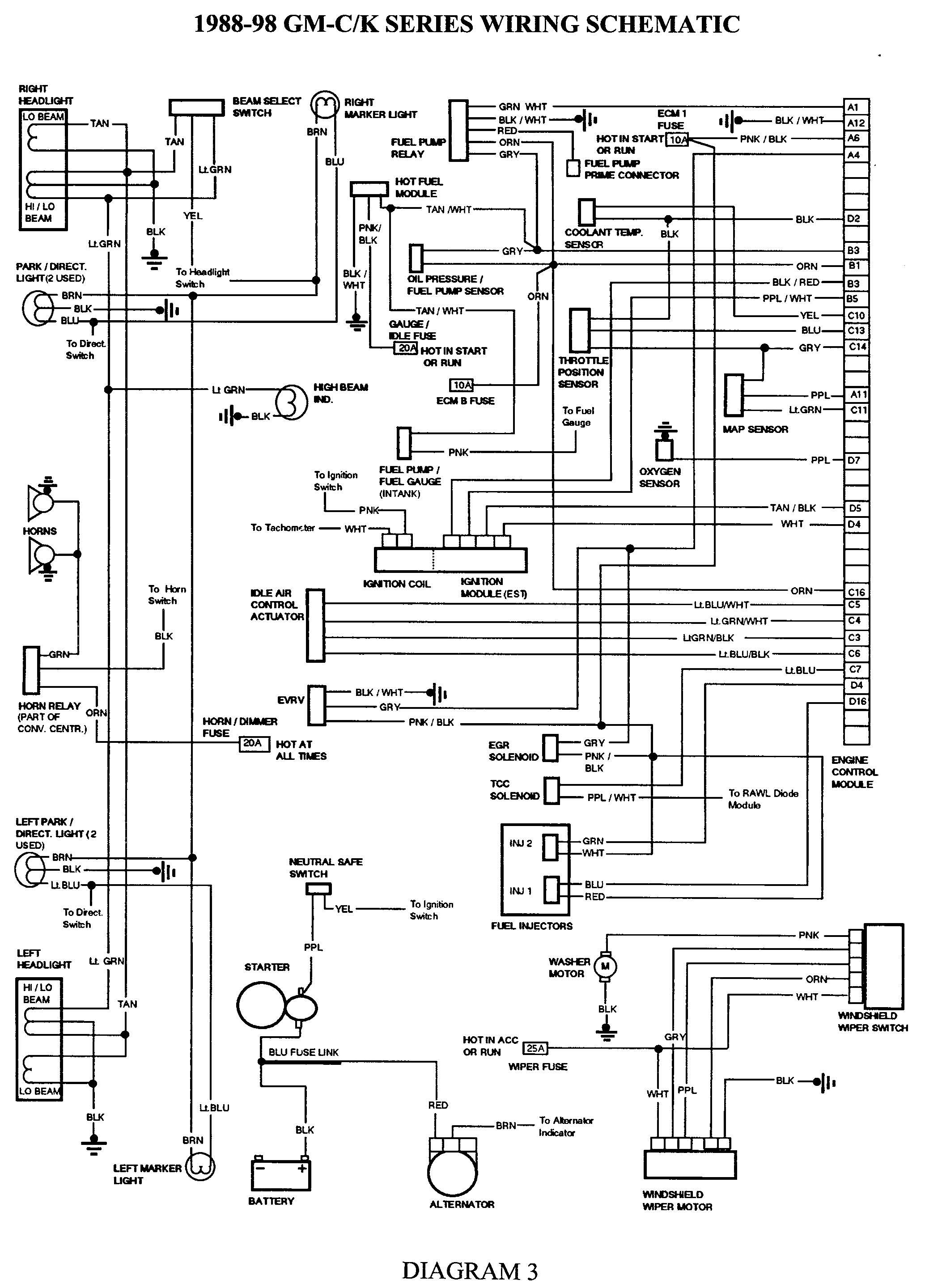 1984 Chevy Truck Electrical Wiring Diagram