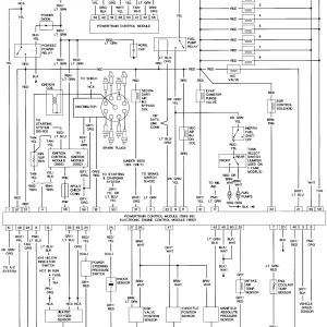 1994 ford F150 Wiring Diagram - 1994 ford F150 Wiring Diagram 1989 ford Bronco Wiring Diagrams Wiring Diagram 1994 ford Bronco 17a