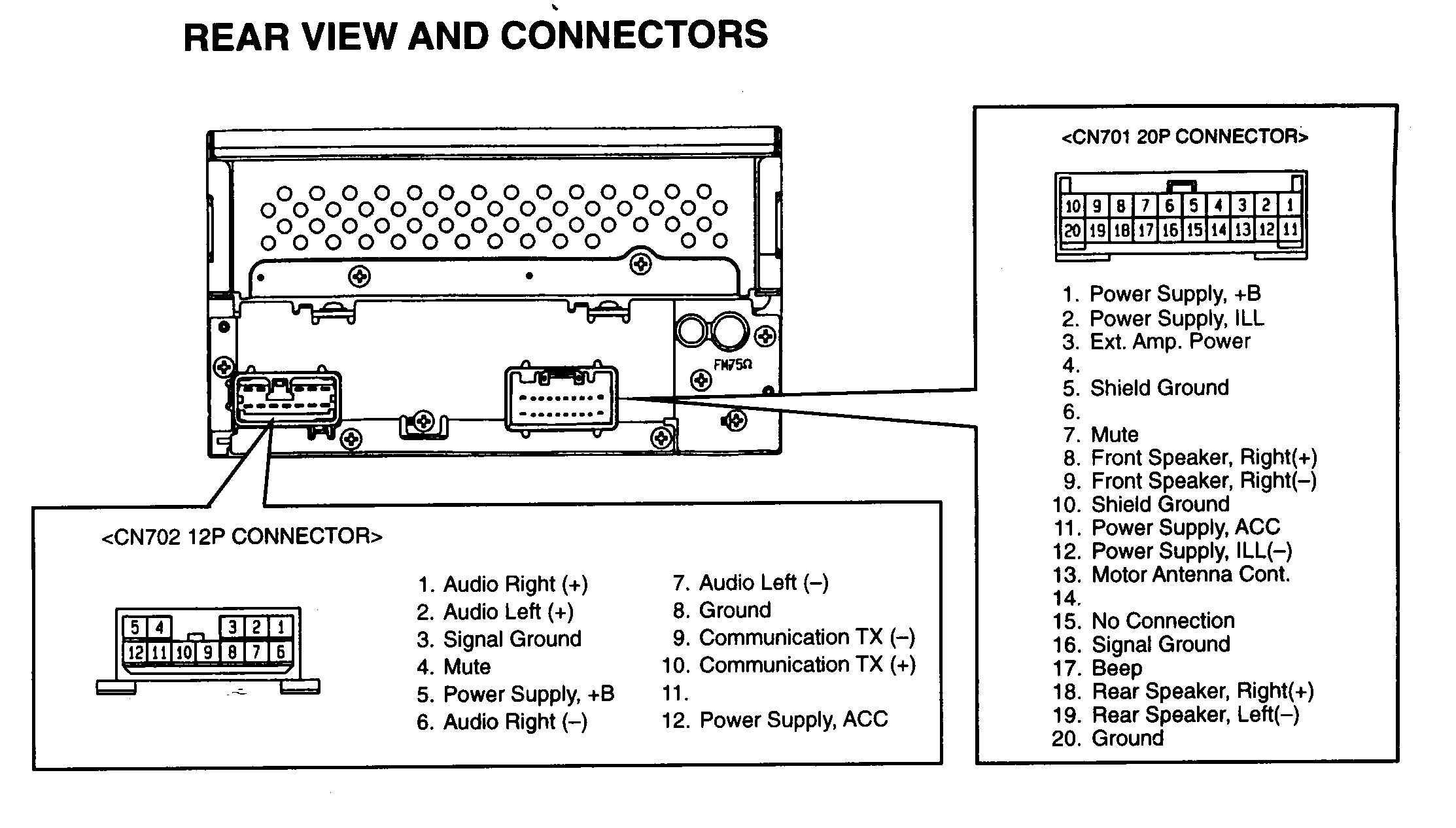 95 Eclipse Radio Wiring Diagram