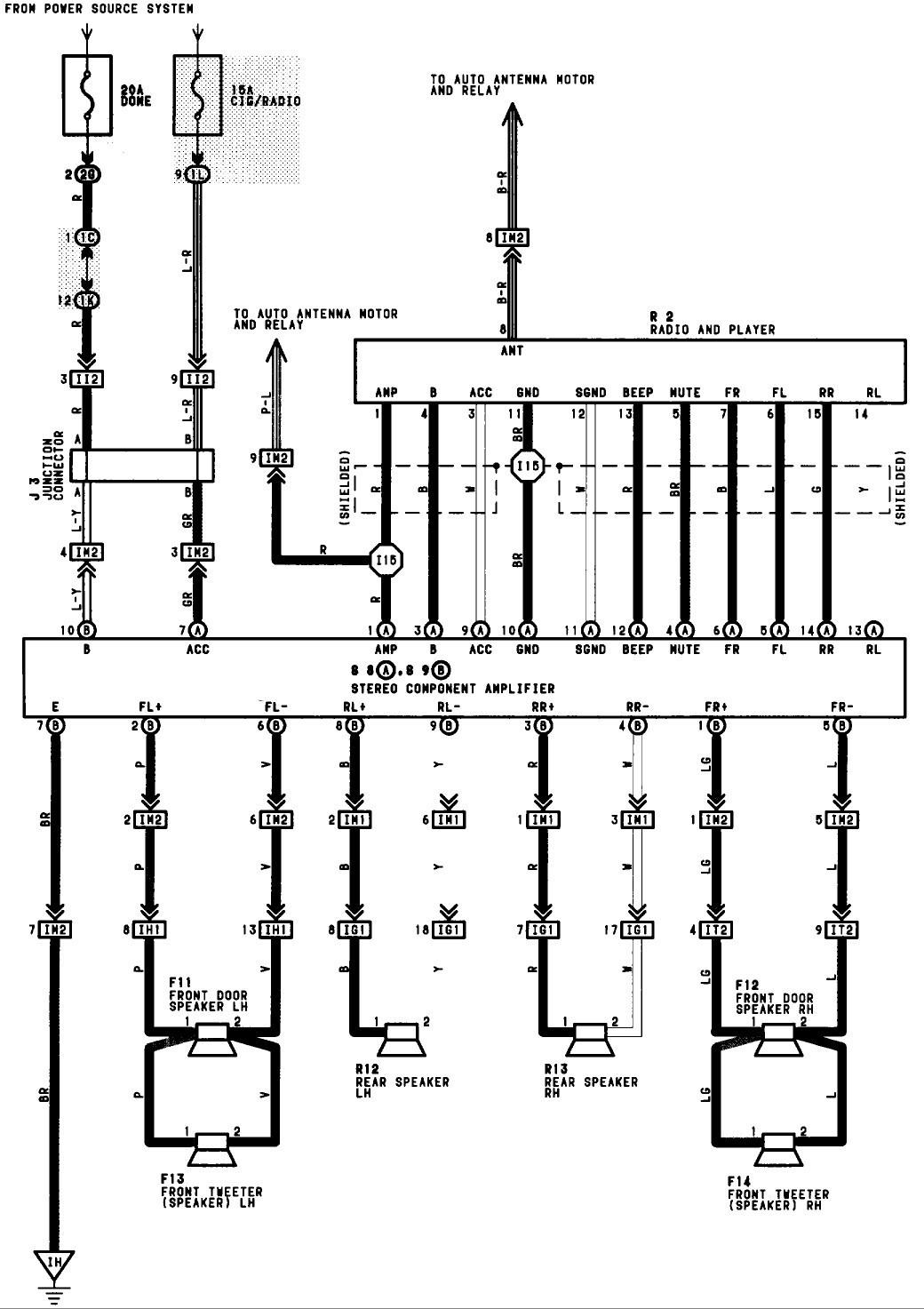 1996 toyota Camry Wiring Diagram   Free Wiring Diagram