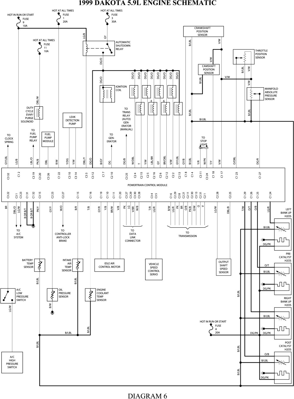 Ac Wiring Diagram For 2004 Dodge 3500