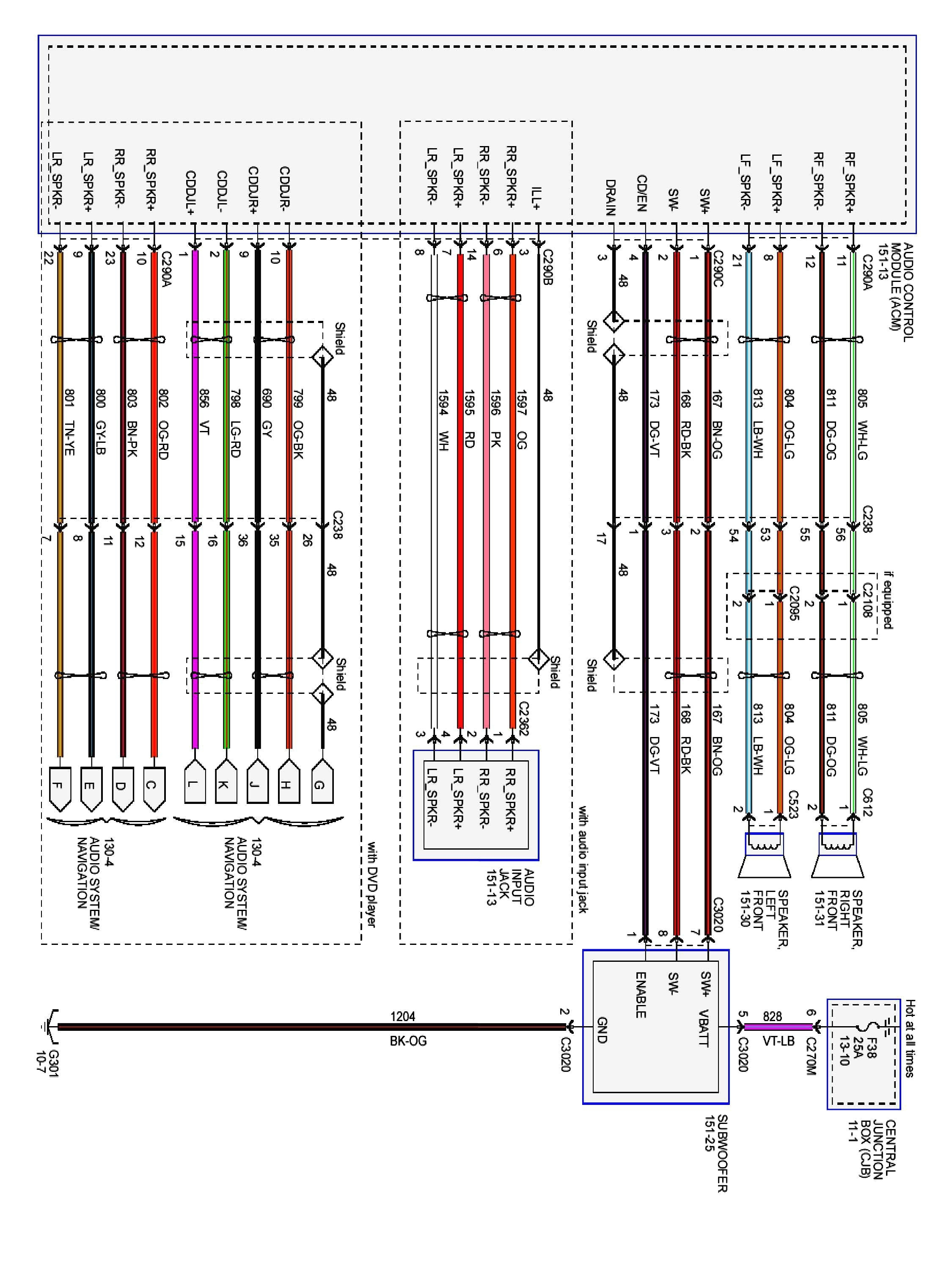 1997 Ford F150 Radio Wiring Diagram