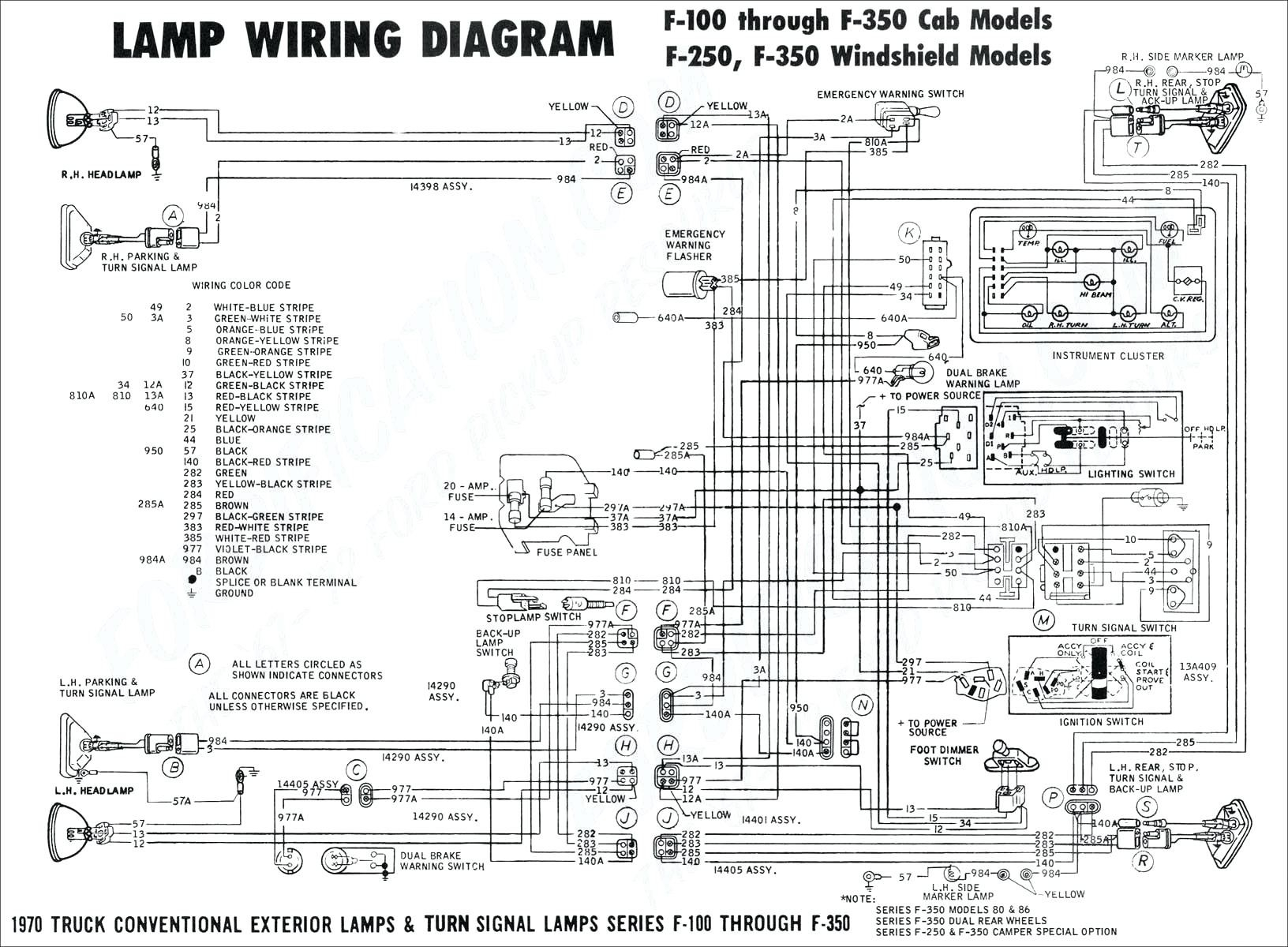 1997 Ford F150 Spark Plug Wiring Diagram Free Tail Light Stop Turn Beautiful 1979