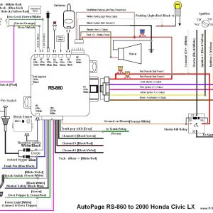 1997 Honda Civic Electrical Wiring Diagram - 2000 Honda Civic Alarm Wiring Diagram Alarm Wiring Diagrams and Kj Diagram Throughout Car In 11f